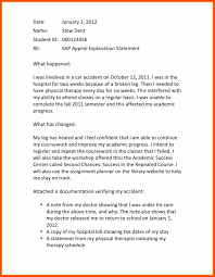 letter of appeal sample financial aid appeal letter program format