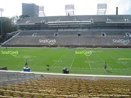 bobby dodd stadium cl 2 view