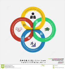 Infographic Template Design Concept For Presentation