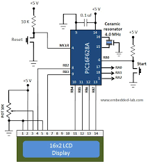 making a digital capacitance meter using microcontroller capacitance meter circuit