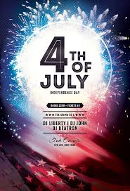 Fourth Of July Flyer On Behance