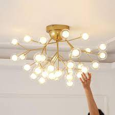 modern tree branch chandelier ceiling