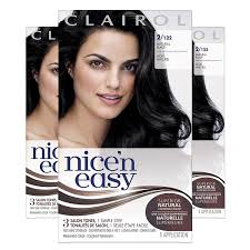 Clairol Hair Dye Color Chart Clairol Nicen Easy Original Permanent Hair Color 2 Black 3 Count