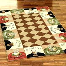 non slip kitchen rugs washable cotton for machine skid
