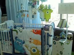 monster crib bedding printed