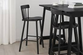 Image Furniture Ikea Bar Stools Norraryd Black Ikea Counter Height Tables Chairs Stools Ikea