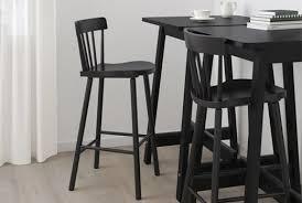ikea bar stools norraryd black