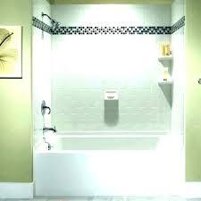 installing shower surround tile install shower wall panels over tile