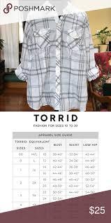 Torrid Plaid Shirt White And Grey Plaid Shirt Its A Light