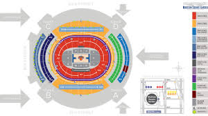 Mag Seating Chart Madison Square Garden Seat Map Msg Official Site
