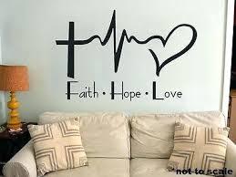 Faith Wall Decor Plaques Signs