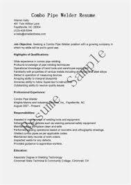 Welding Apprentice Sample Resume Interesting 48 Tig Welder Resume Download Best Resume Templates