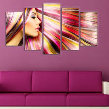 wall art decoration for hairdressing salon