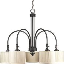 c197 p4422 84 by progress lighting clayton collection espresso finish 5 light chandelier