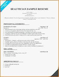 Cosmetologist Resume Template Adorable Cosmetology Resume Template Extraordinary Cosmetologist Resume