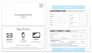 Remittance Envelope | Template 104 | Donation Envelope