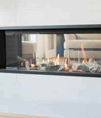 Image Valor L1 Driftwood1inchb Bobs Woodburners And Fireplaces Ltd Valor L12 Sided Linear Gas Fireplace Bobs Intelligent Heating Decor
