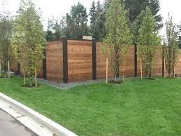 Horizontal Fence Horizontal Wood Fencing Modern Horizontal Fence