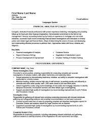Fraud Analyst Sample Resume Adorable Background Investigator Resume Kenicandlecomfortzone