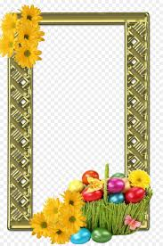 picture frames easter holiday doodles
