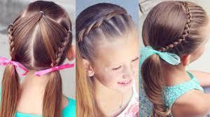 تسريحات شعر للاطفال البنات سهله خطوه بخطوه