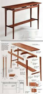 diy wood furniture projects. floating top table plans furniture and projects woodwork woodworking diy wood