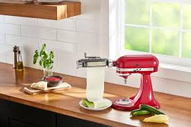 kitchenaid vegetable sheet cutter. kitchenaid ksmsca vegetable sheet cutter attachment silver - best buy kitchenaid t