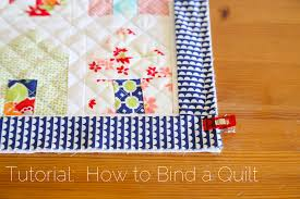 Tutorial: How to Bind a Quilt | Quilt Binding Tutorial ... & How to Double Bind a Quilt Adamdwight.com