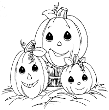 Halloween Coloring Pages Family Pumpkin Free Printable Coloring