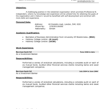 Business Banker Resume Investment Banking Resume Format Banker Skills On Resume Private 8