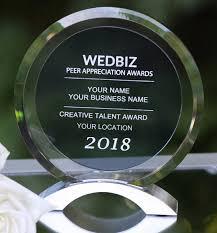 Wedbiz Peer Appreciation Awards