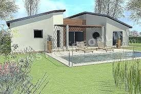 Full Size Of Plan Maison Moderne Gratuit 3d Pdf De Tunisie Villa Plain Pied  Belle Architectures ...