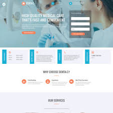 35 Best Dentistry Website Templates