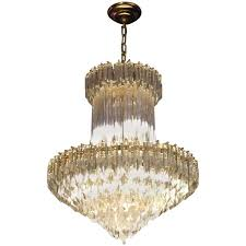 gorgeous mid century italian murano glass chandelier by camer for