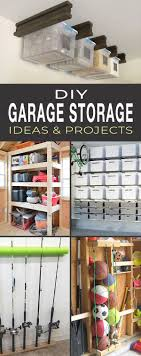 diy garage storage ideas projects tall pin for