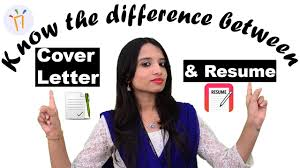 What Is The Difference Between A Resume And A Cover Letter Ii