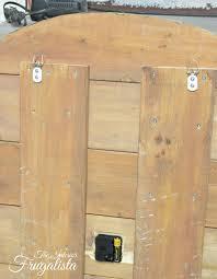 pallet wood clock d hooksw