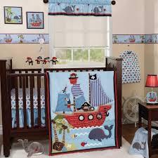 image of nautical baby boy nursery bedding