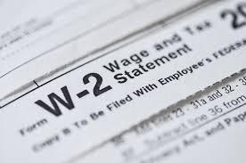 Lost W 2 Tax Form Money