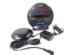 sonic alarm clock sonic alarm clock for the deepest sleepers sonic alarm clock