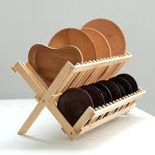 wood dish drying rack wooden dish dryer rack wood dish dryer rack