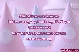 Birthday Quotes For Best Friend Simple Best Friend Birthday Quotes