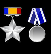 Medal Icon Templates Shiny Grey Various Shapes Vector Misc