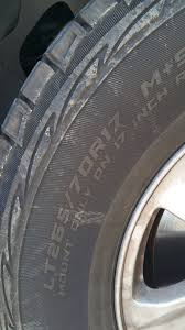 Cooper Tire Psi Chart What Is The Recommended Psi For New Cooper Discoverer Atps