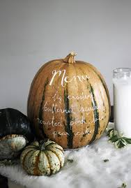 Decorating: White Thanksgiving Pumpkin Vases - Thanksgiving Tablescapes