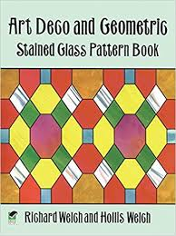 Stained Glass Pattern Books Awesome Art Deco And Geometric Stained Glass Pattern Book Dover Stained