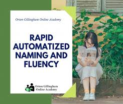 Rapid Automatized Naming And Fluency Orton Gillingham