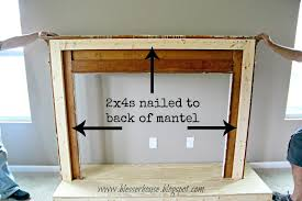diy floating fireplace mantel shelf build over stone how to a