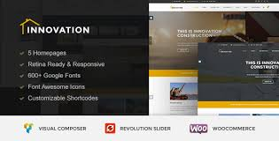 Innovation Construction Building Wordpress Theme By Bomlayers