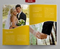 Free Wedding Brochure Templates Download 21 Wedding Brochure ...